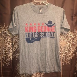 KING GEORGE STRAIT Graphic Tee T-shirt Top shirt S